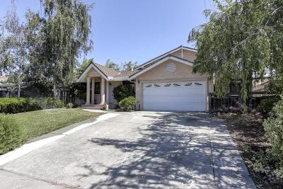 Milpitas Single Family Home Pending Show For Backups: 158 S Temple Drive