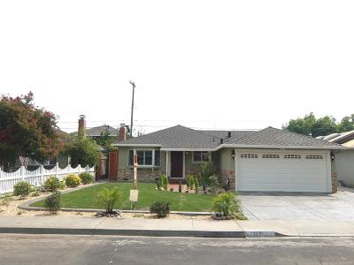 Santa Clara Single Family Home For Sale: 1251 Las Palmas Drive