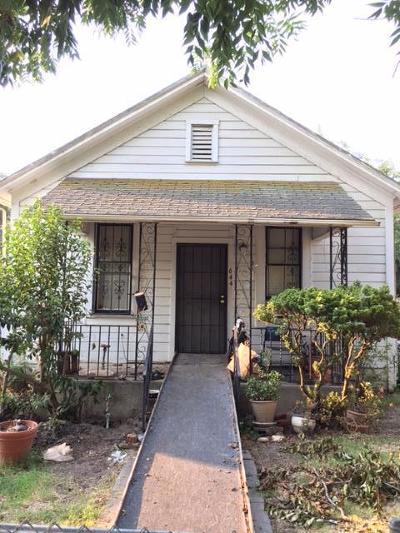 Stockton Single Family Home For Sale: 644 E 4th Street