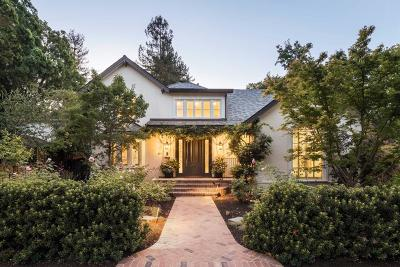 Palo Alto Single Family Home For Sale: 471 Nevada Avenue