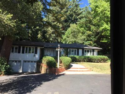 Los Gatos Single Family Home Pending Show For Backups: 23341 Deerfield Road