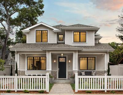 Palo Alto Single Family Home For Sale: 151 Kellogg Avenue