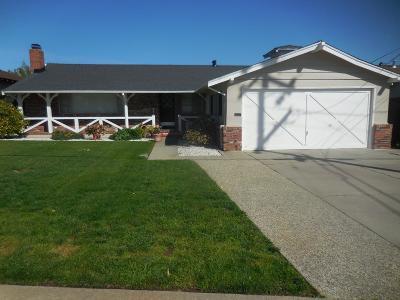 San Mateo County, Santa Clara County Rental For Rent: 1007 Tahoe Drive