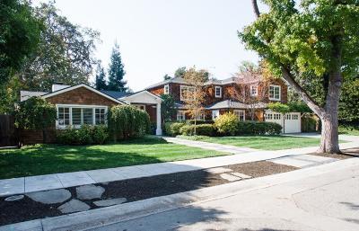 Palo Alto Single Family Home For Sale: 2350 Byron Street