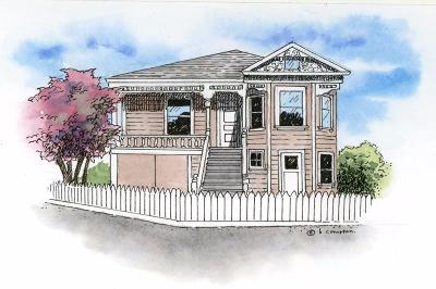Newark Single Family Home For Sale: 6840 Thornton Avenue