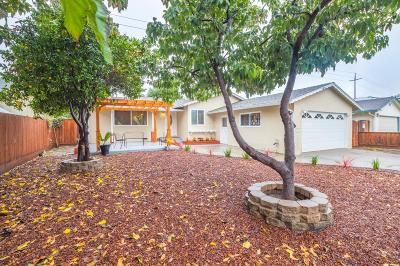 Milpitas Single Family Home For Sale: 601 Heath Street