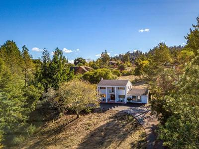 Los Gatos Single Family Home For Sale: 22077 Old Santa Cruz Highway