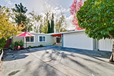 Palo Alto Single Family Home For Sale: 731 Barron Avenue