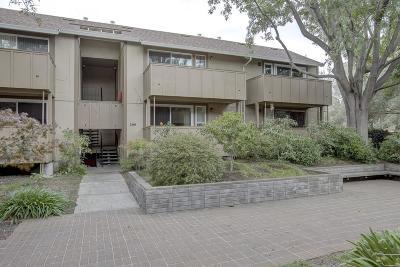 Palo Alto Condo/Townhouse For Sale: 2460 W Bayshore Road #7