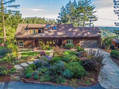Santa Cruz Single Family Home For Sale: 4187 Smith Grade