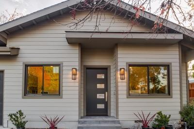 Mountain View Single Family Home For Sale: 2521 Mardell Way