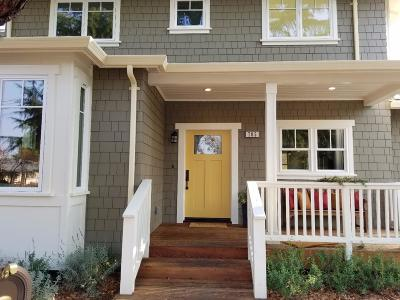 Mountain View Single Family Home For Sale: 705 Independence Avenue