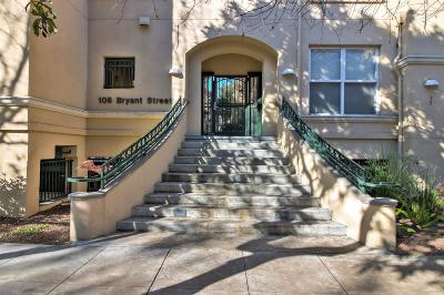Mountain View Condo/Townhouse For Sale: 108 Bryant Street #25