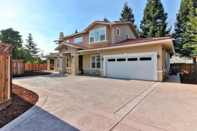 Campbell Single Family Home For Sale: 295 California Street