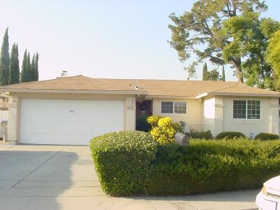 Santa Clara County Single Family Home For Sale: 3287 Parkhaven Drive