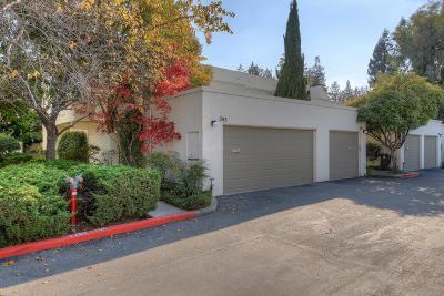 Santa Clara County Condo/Townhouse For Sale: 243 Sierra Vista Avenue