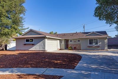 Santa Clara County Single Family Home For Sale: 123 Green Hill Way