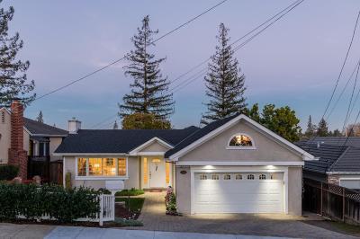 San Mateo County, Santa Clara County Single Family Home For Sale: 429 Emerald Avenue
