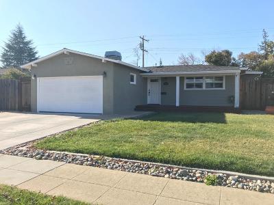 San Mateo County, Santa Clara County Single Family Home For Sale: 3743 Arbuckle Drive
