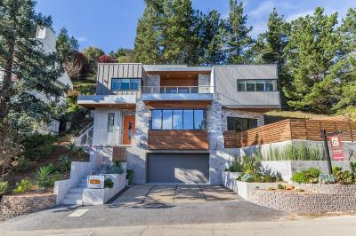 Berkeley Single Family Home For Sale: 1887 Tunnel Road
