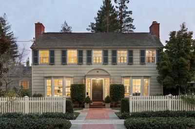 Palo Alto Single Family Home For Sale: 650 Lowell Avenue