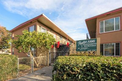 San Mateo Multi Family Home For Sale: 314 E Poplar Avenue