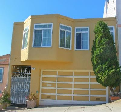 San Francisco Single Family Home For Sale: 58 Bishop Street