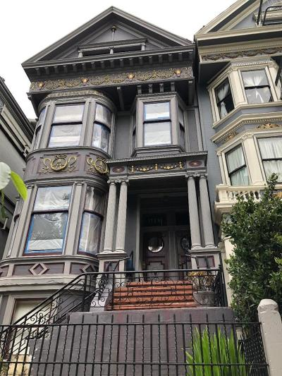 San Francisco Multi Family Home For Sale: 1736 Fell Street