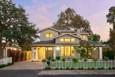 Palo Alto Single Family Home For Sale: 3878 Magnolia Drive