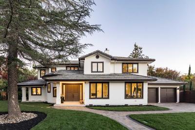Palo Alto Single Family Home For Sale: 490 Loma Verde Avenue