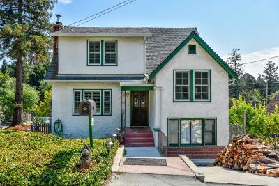 Santa Cruz Single Family Home For Sale: 19 Beulah Drive