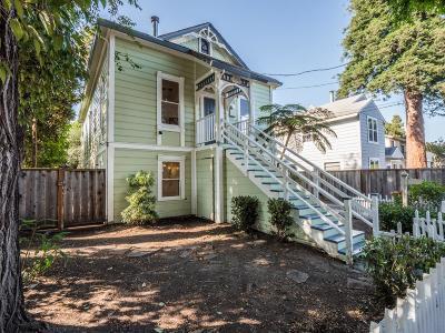 Santa Cruz Single Family Home For Sale: 134 Hunolt Street