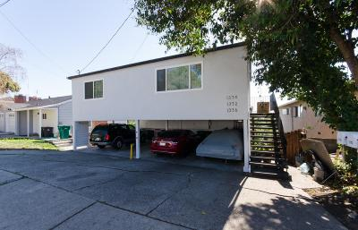 Hayward Multi Family Home Pending Show For Backups: 1372-1376 Highland Boulevard