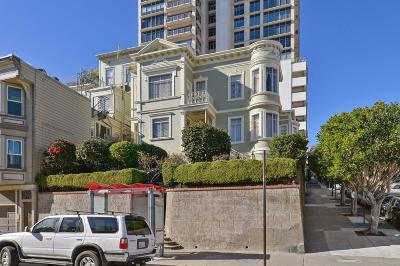 San Francisco Single Family Home For Sale: 1657-1659 Mason Street #1657-165