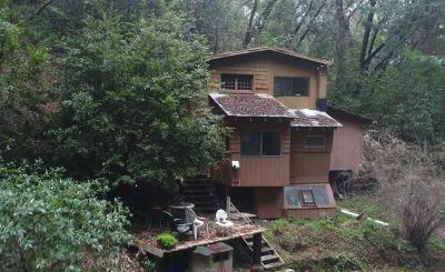 Los Gatos Single Family Home For Sale: 15251 Upper East Zayante Road
