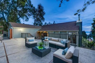Berkeley Single Family Home For Sale: 1230 Grizzly Peak Boulevard