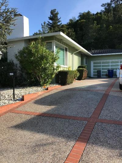 Millbrae Single Family Home For Sale: 1237 Sleepy Hollow Lane