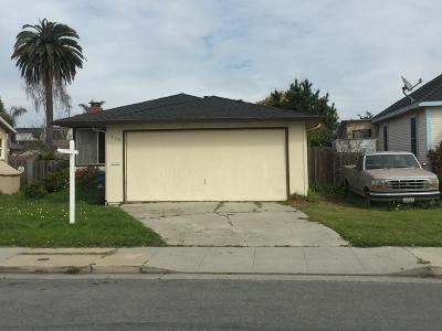 Santa Cruz Single Family Home For Sale: 530 Bellevue Street