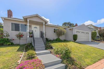 Millbrae Single Family Home For Sale: 31 La Prenda