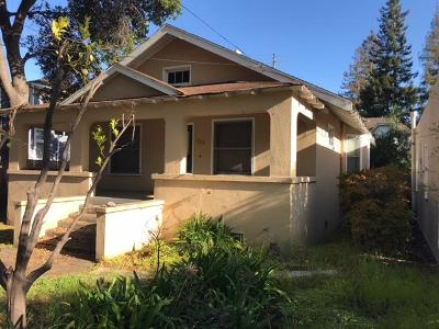 Palo Alto Single Family Home For Sale: 869 Channing Avenue