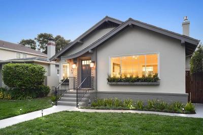 San Mateo Single Family Home For Sale: 143 12th Avenue
