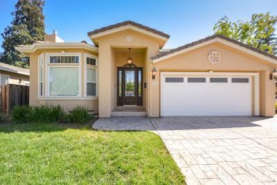 Cupertino Single Family Home For Sale: 18850 Tuggle Avenue
