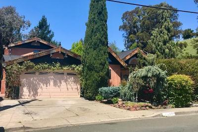 Pinole Single Family Home For Sale: 2585 Wright Avenue