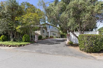 Burlingame Single Family Home For Sale: 3123 Hillside Drive