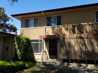 San Mateo Condo/Townhouse For Sale: 1576 Marina Court #C
