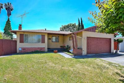 Milpitas Single Family Home For Sale: 436 Elm Court
