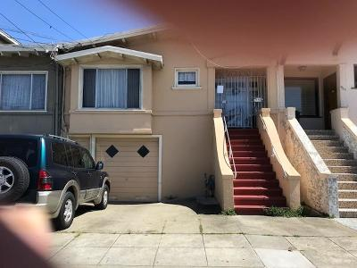 San Francisco Single Family Home For Sale: 951 Naples Street