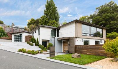 San Mateo County Single Family Home For Sale: 2635 Summit Drive