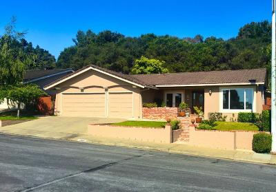 San Mateo Single Family Home For Sale: 1700 Oakwood Drive
