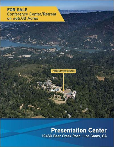 Los Gatos Commercial For Sale: 19480 Bear Creek Road